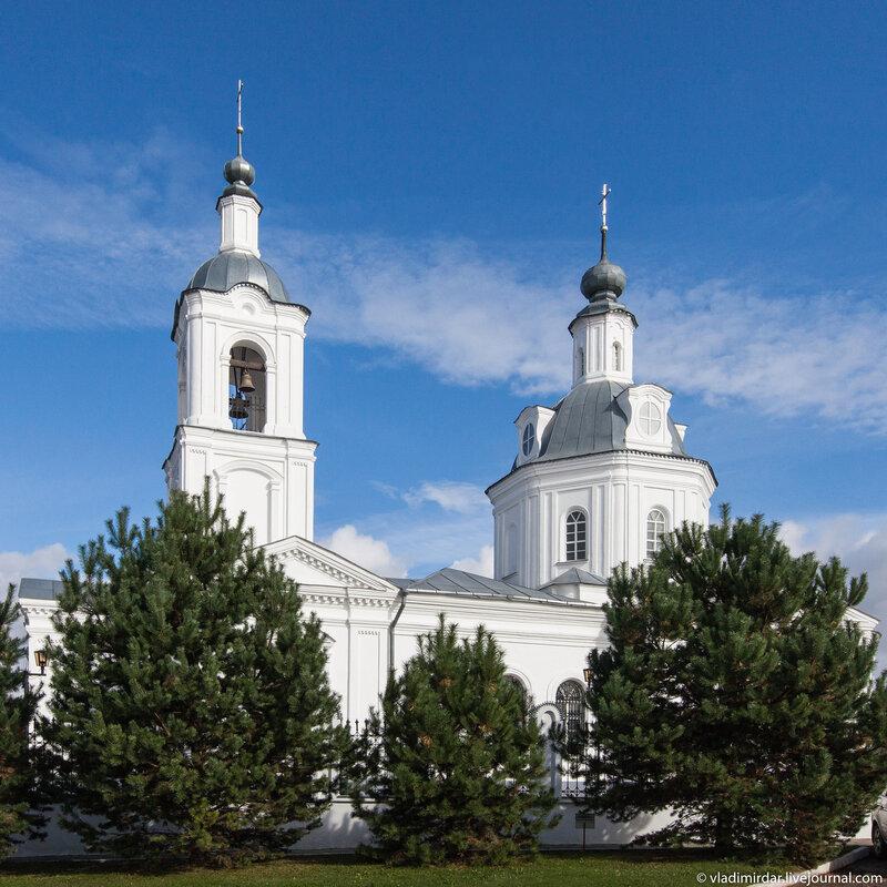 Белая Русь. Свято-Никольский храм.