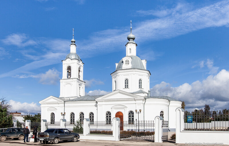 Свято-Никольский храм города Алексин