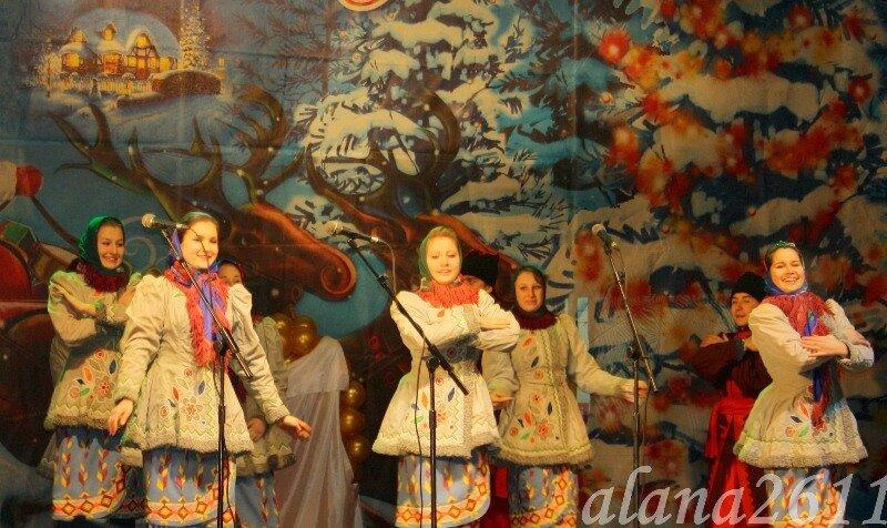 Церемония открытия Главной ёлки г. Донецка.
