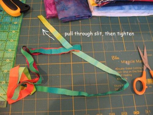 сумки вязаные из лент - Сумки.
