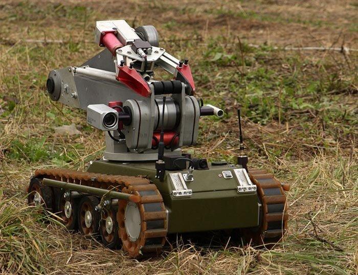Гусеничные роботы