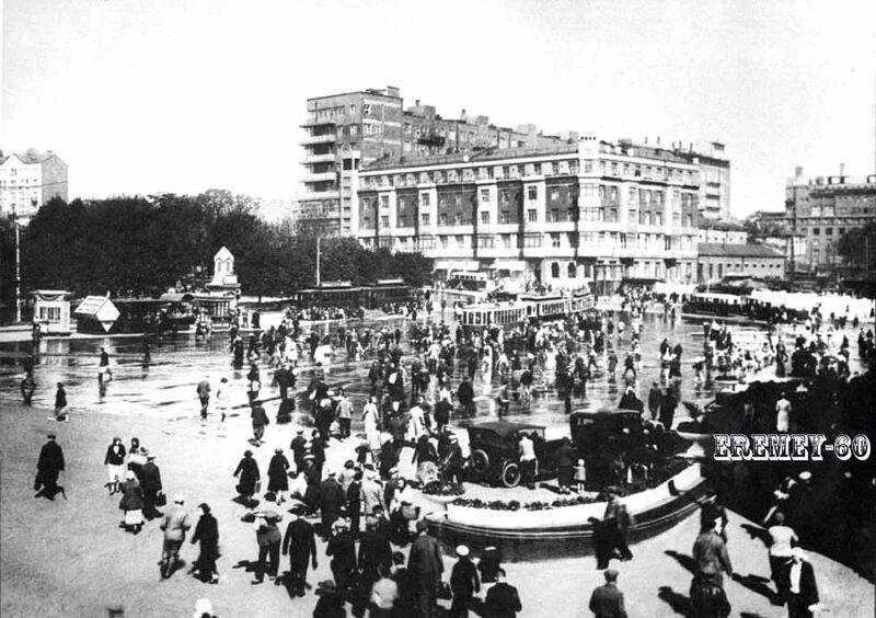 Площадь Курского вокзала-1933