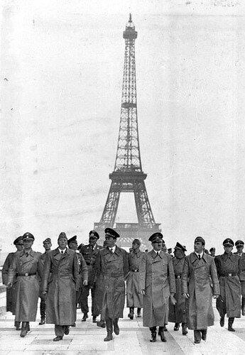 Paris, Eifelturm, Besuch Adolf Hitler