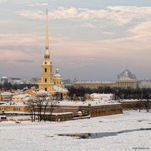 Фото 64918 (лед, Нева, Петербург, Петропавловская крепость)