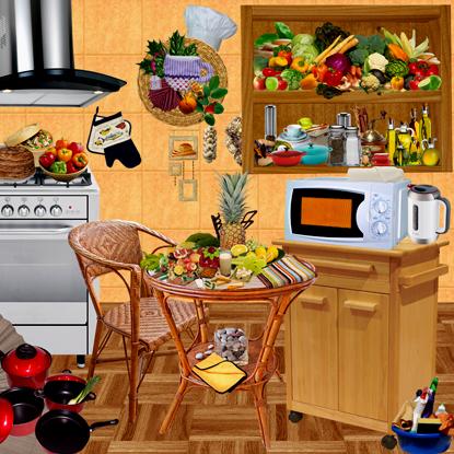 скрап набор кулинария