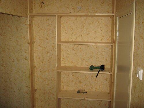 Сделать шкаф купе из мебельного щита видео