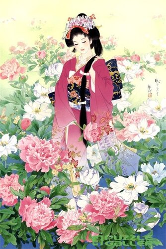 Эротические сцены на японских гравюрах  Художники  Zen