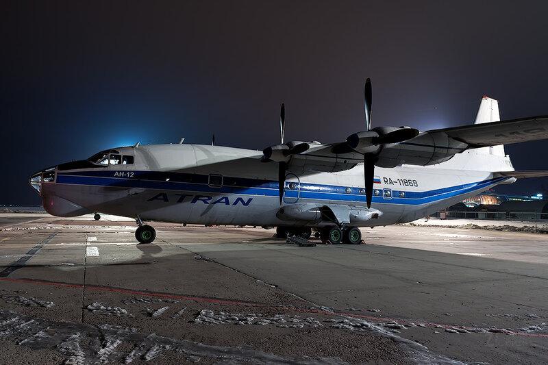 Антонов Ан-12БП (RA-11868) Атран D707878