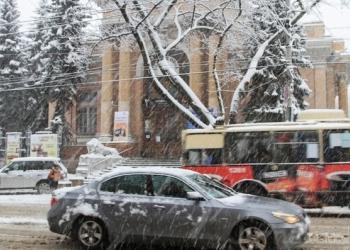 Сегодня ожидаются сильные снегопады на юге страны
