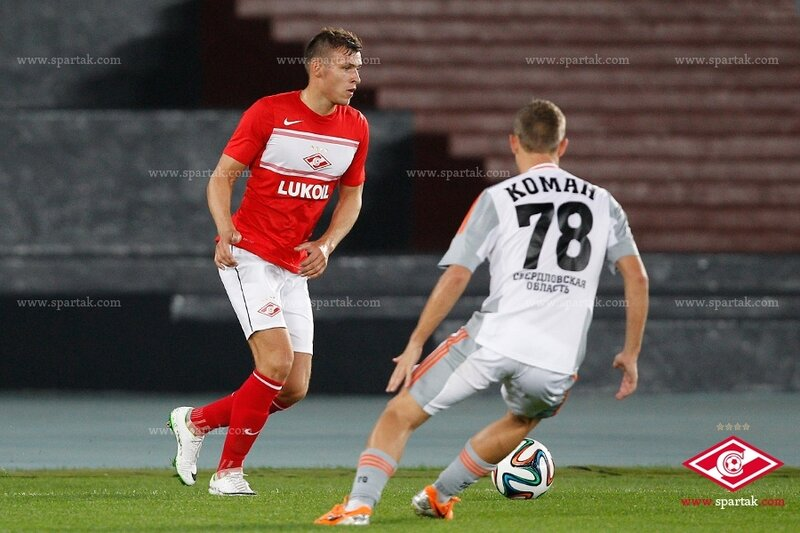 «Спартак» vs «Урал» 0:2 контрольный матч 2014 (Фото)