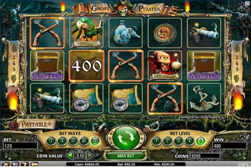 Игровой автомат Ghost Pirates – побудь пиратом