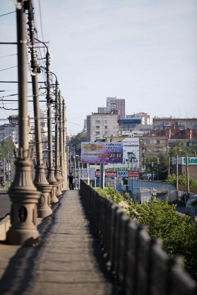 Шагая по Свердловскому мосту (23.01.2014)