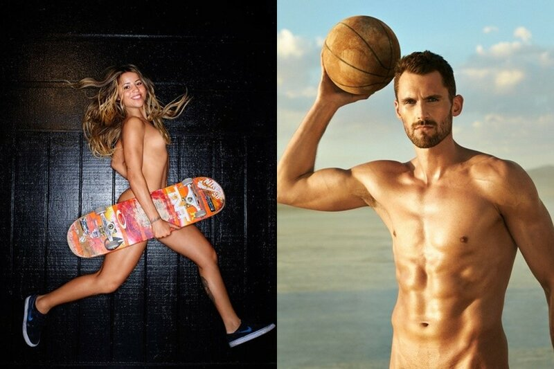 ESPN: фотографии обнаженных спортсменов в журнале
