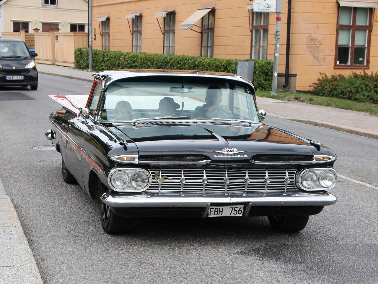 Уппсала. Uppsala. Автоклассика, Oldtimer.  Chevrolet Impala, 1958-1960