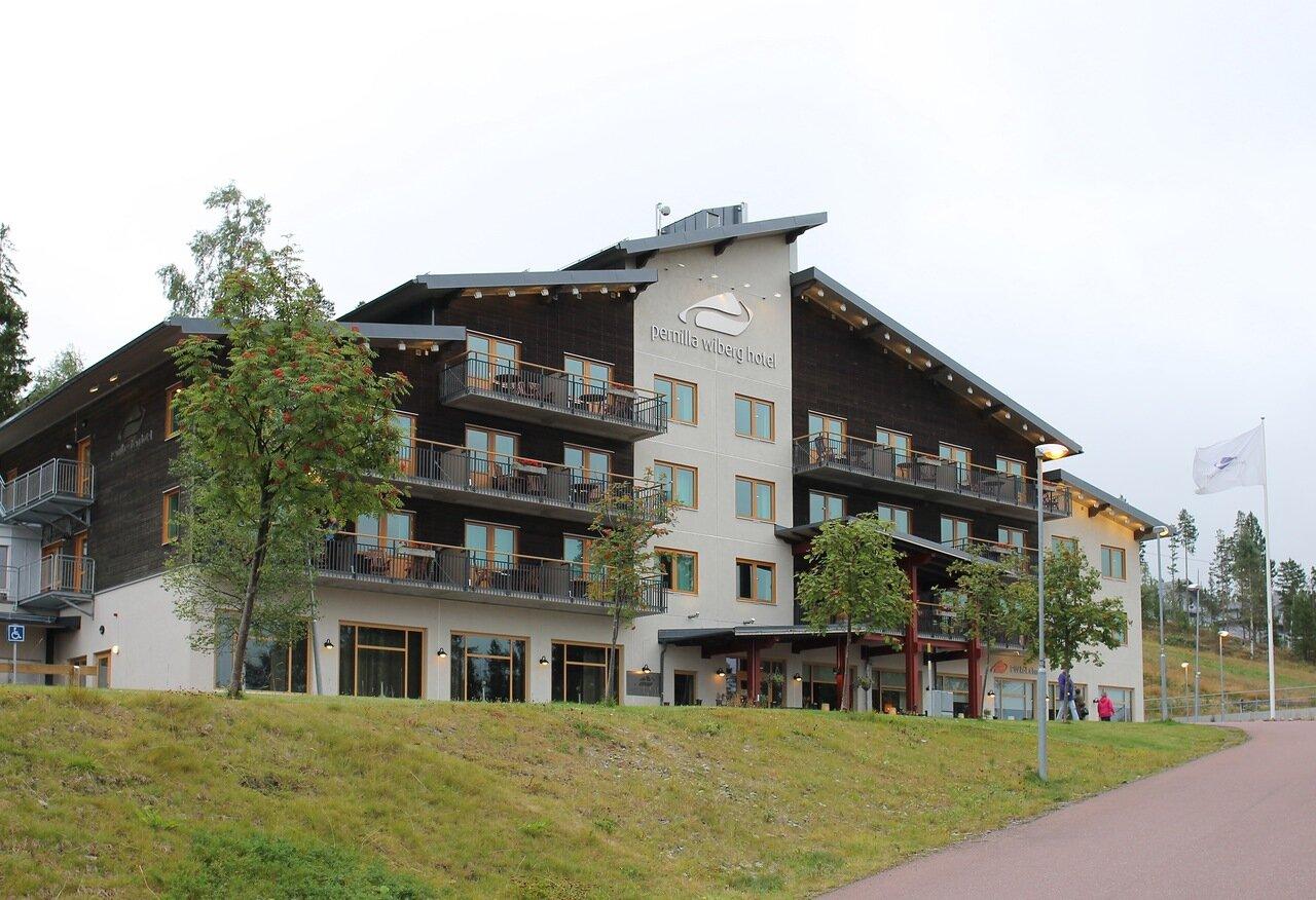 Швеция. Горнолыжный курорт Идре. Pernilla Wiberg Hotel