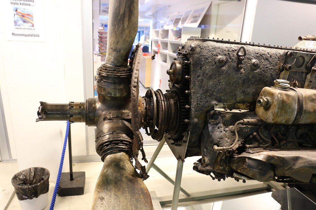 Авиамузей Хельсинки-Вантаа. Messershmitt BF109