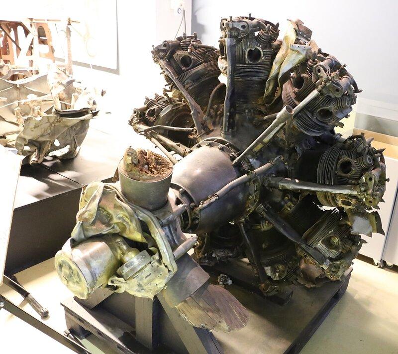Авиамузей Хельсинки-Вантаа. Радиальный авиадвигатель