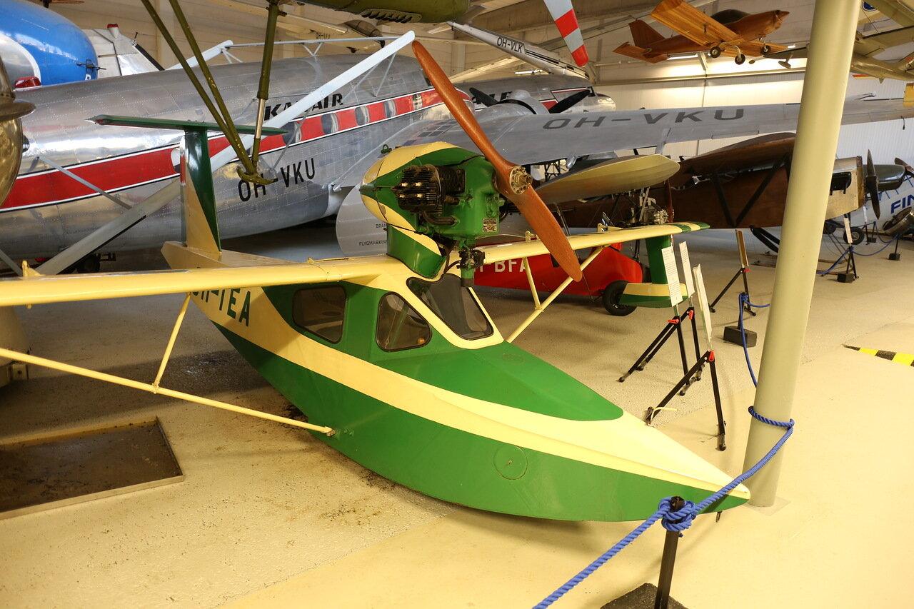 Авиамузей Хельсинки-Вантаа. Летающая лодка Eclund TE-1