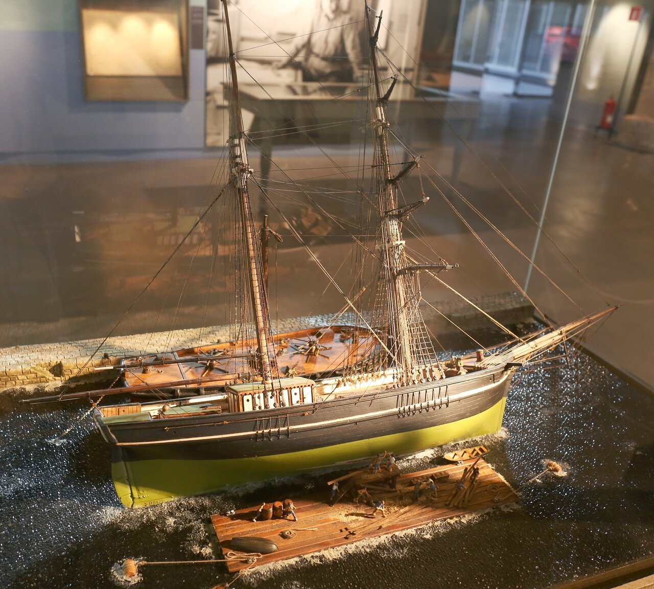 Maritime Museum of Barcelona. Careenage