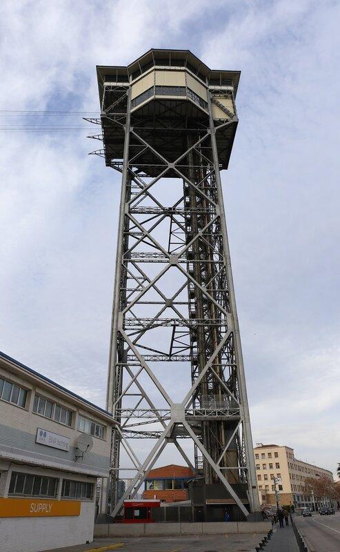 Barcelona. San Sebastian Tower (Torre Sant Sebastià)