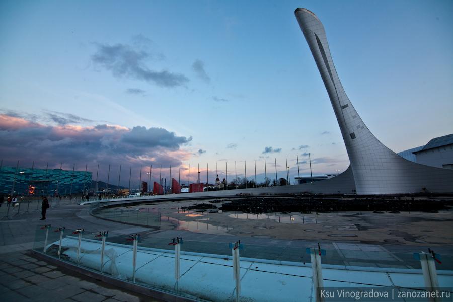 Олимпийский объекты Сочи 2014