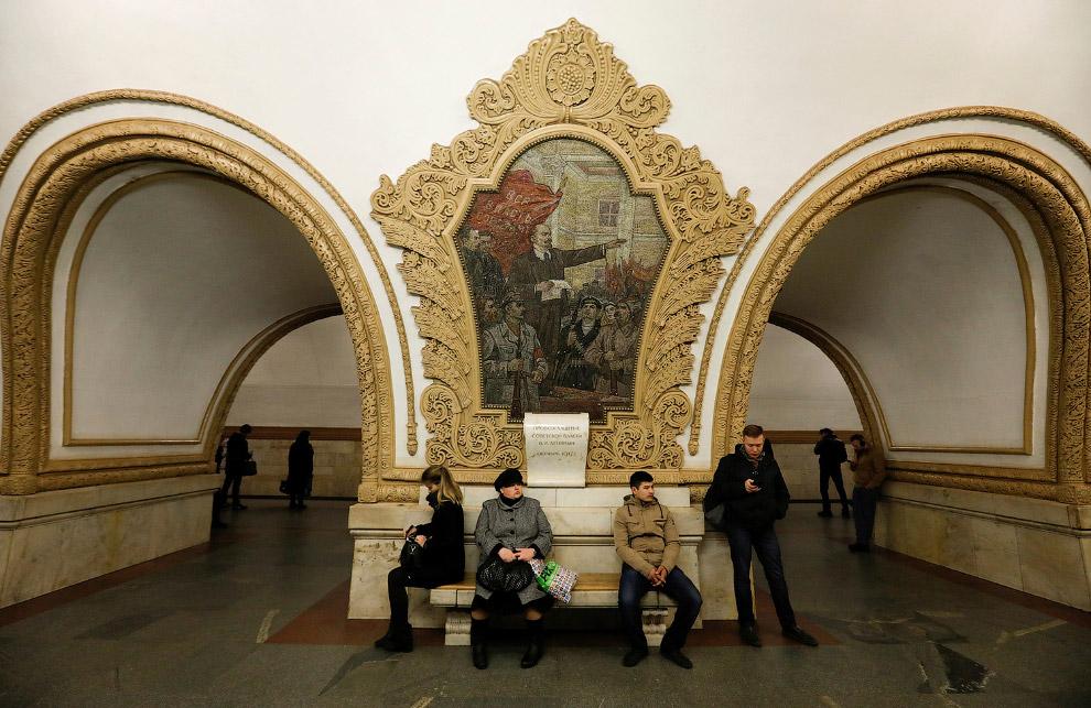 12. Машинист поезда. По состоянию на 2017 год в Московском метрополитене используются электропо