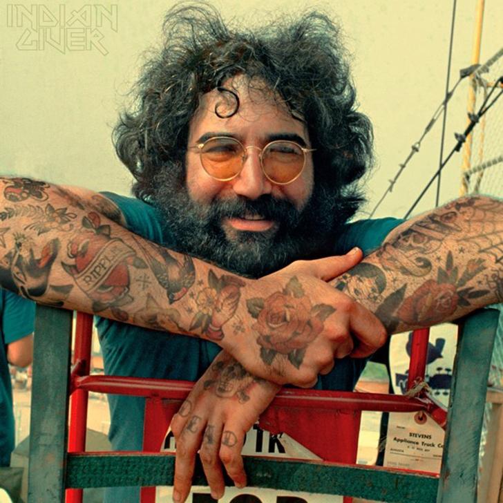 Джерри Гарсия — американский музыкант, гитарист, вокалист группы Grateful Dead, основоположник психо