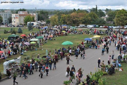 ярмарка-выставка цветов в луганске на день города 2013