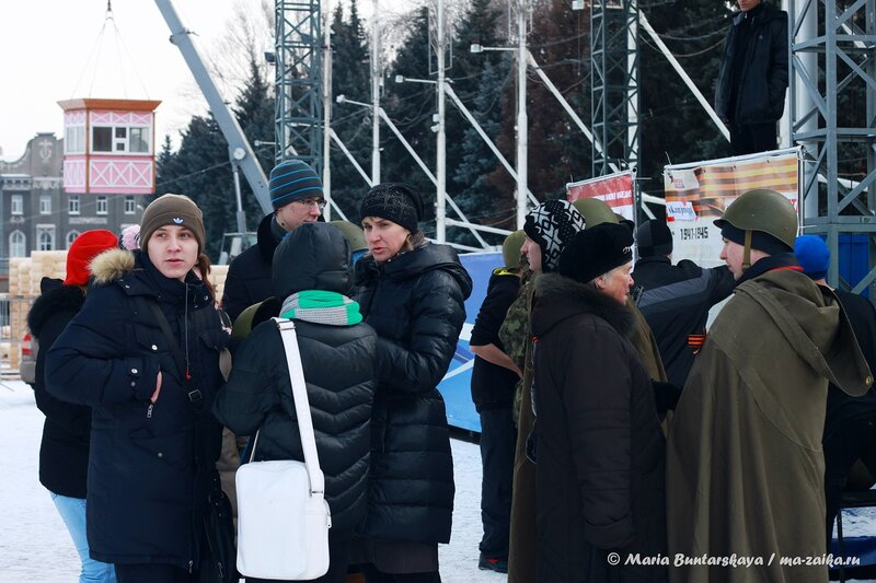 Квест-игра 'Прикоснись к Победе!', Саратов, Театральная площадь, 10 декабря 2013 года