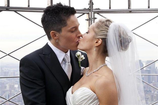 лесби фото свадьба