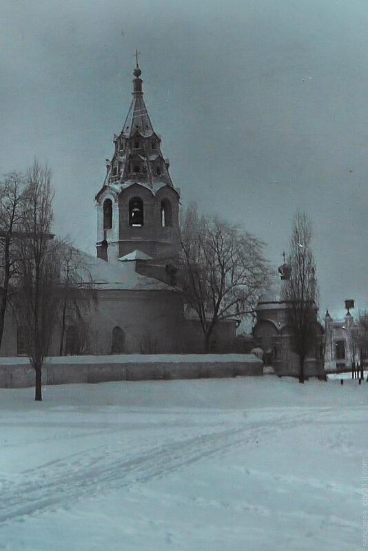 Зима в Белгороде, начало 20 века, фотограф Г.Мартьянов