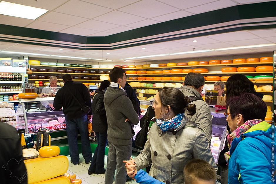 Сырная лавка в Амстердаме