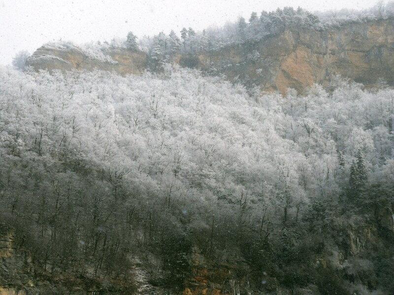 Фотограф Алексей Значков, Гуамское ущелье, 06.02.2010, Кавказ
