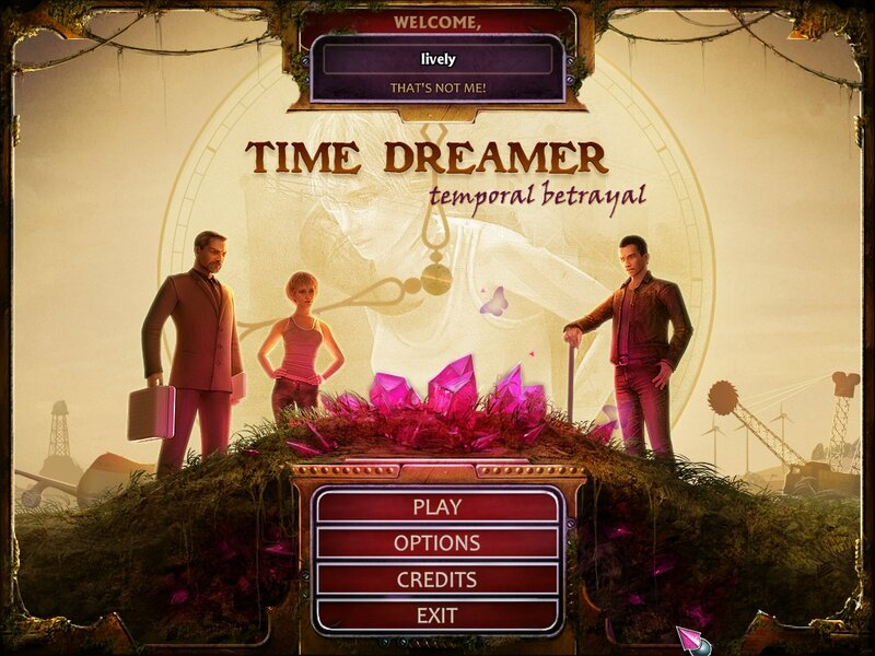Time Dreamer: Temporal Betrayal (FINAL)