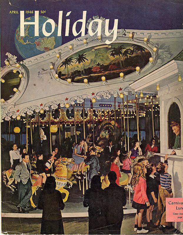 Holiday Magazine covers  1946