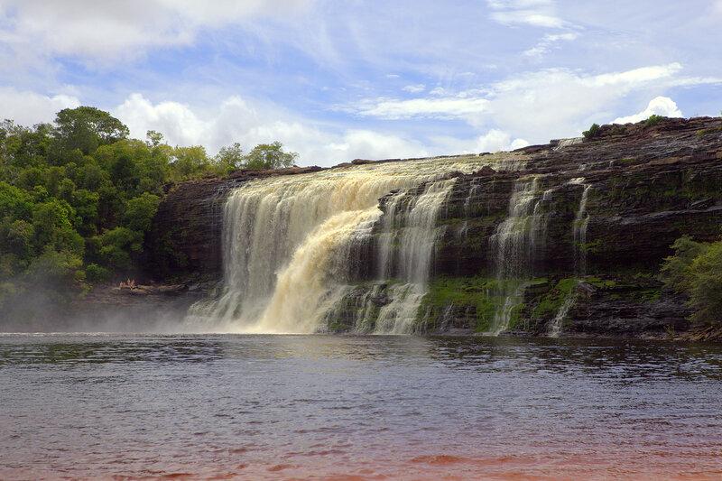 Водопад Сапо