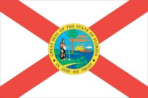Флаг штата Флорида