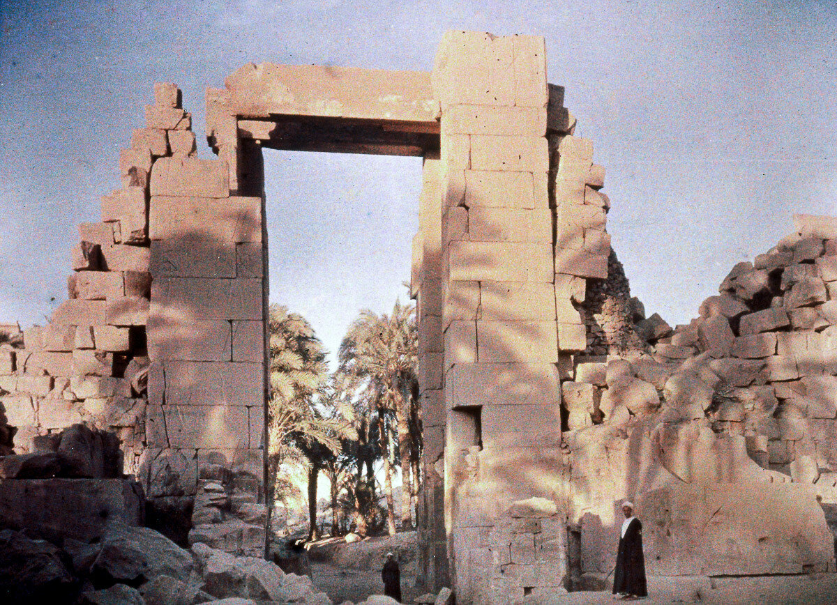 1913. Карнак, Египет