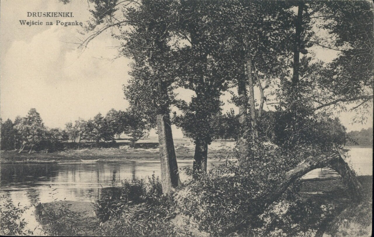 Спуск к Поганке. 1908