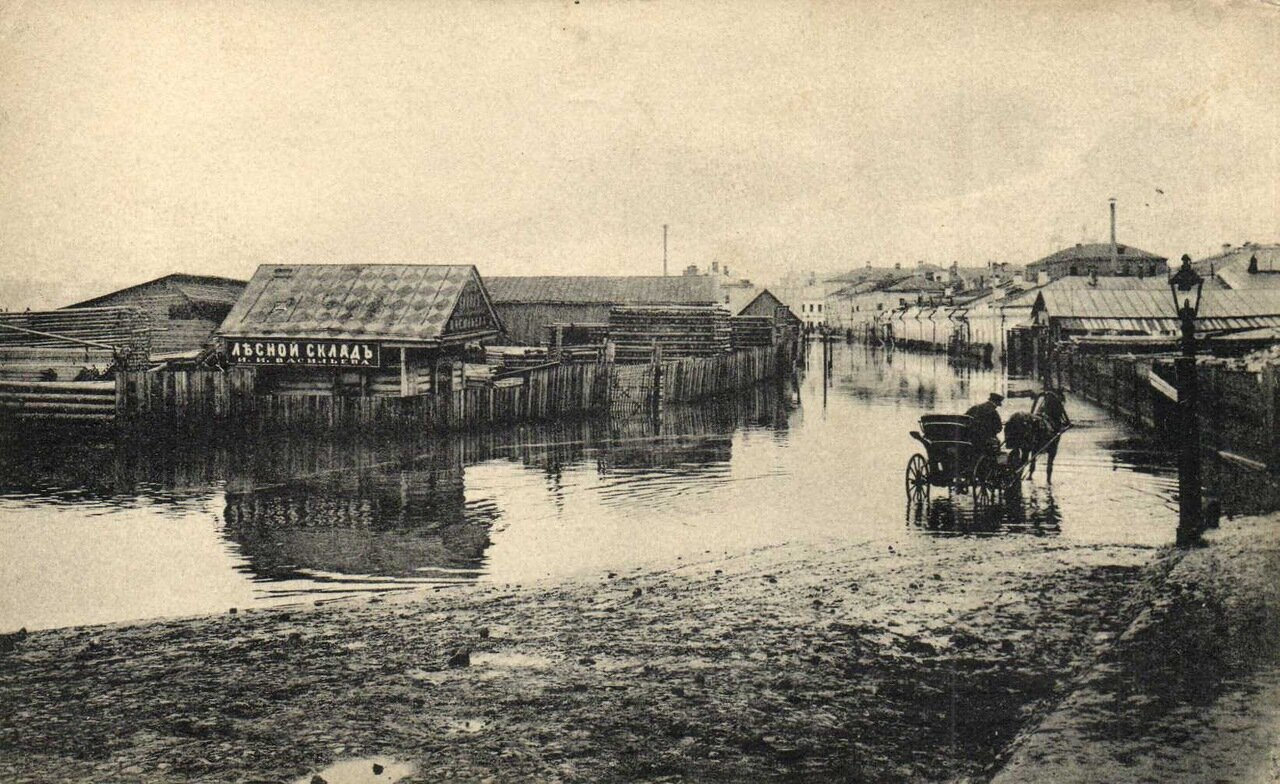 У Дорогомиловского моста. Псковский переулок