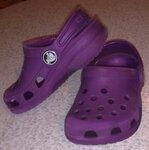 Crocs Kids р. 4/5 (11,7 см), сделано в Канаде, хорошее состояние - 300 руб. - ПРОДАНО