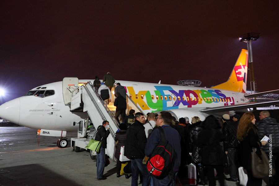 Boeing 737-529 VP-BHA Sky Express