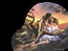 Клипарт влюбленная пара
