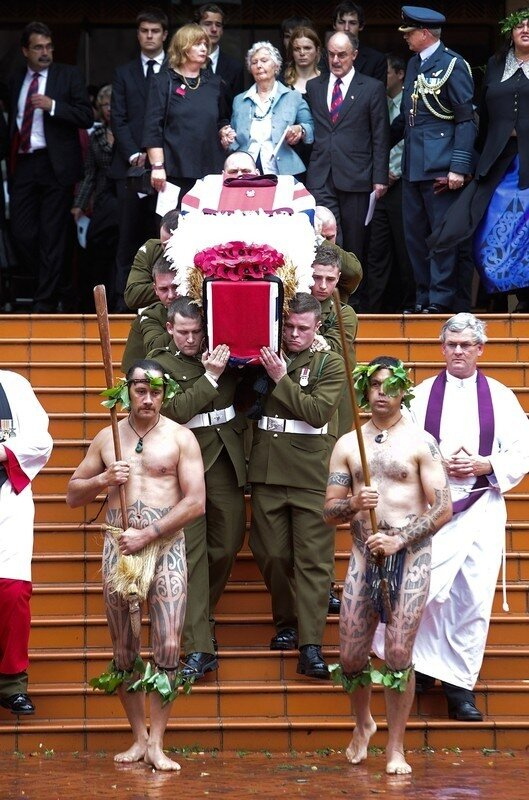 Soldier Receives Full British Military Funeral In Wellington