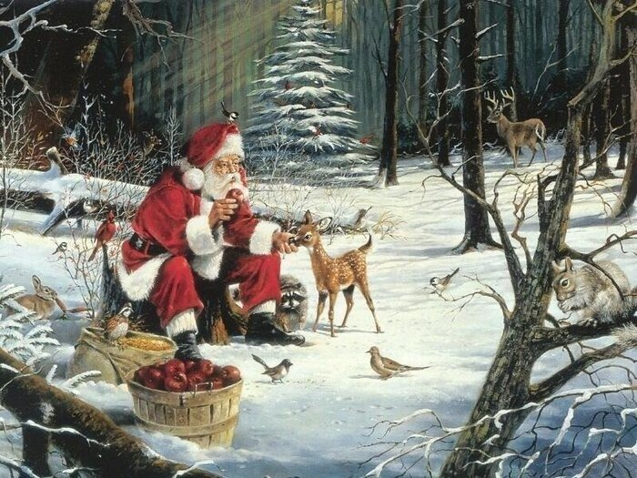 В сказку новогоднюю снова загляну Nicky Boehme