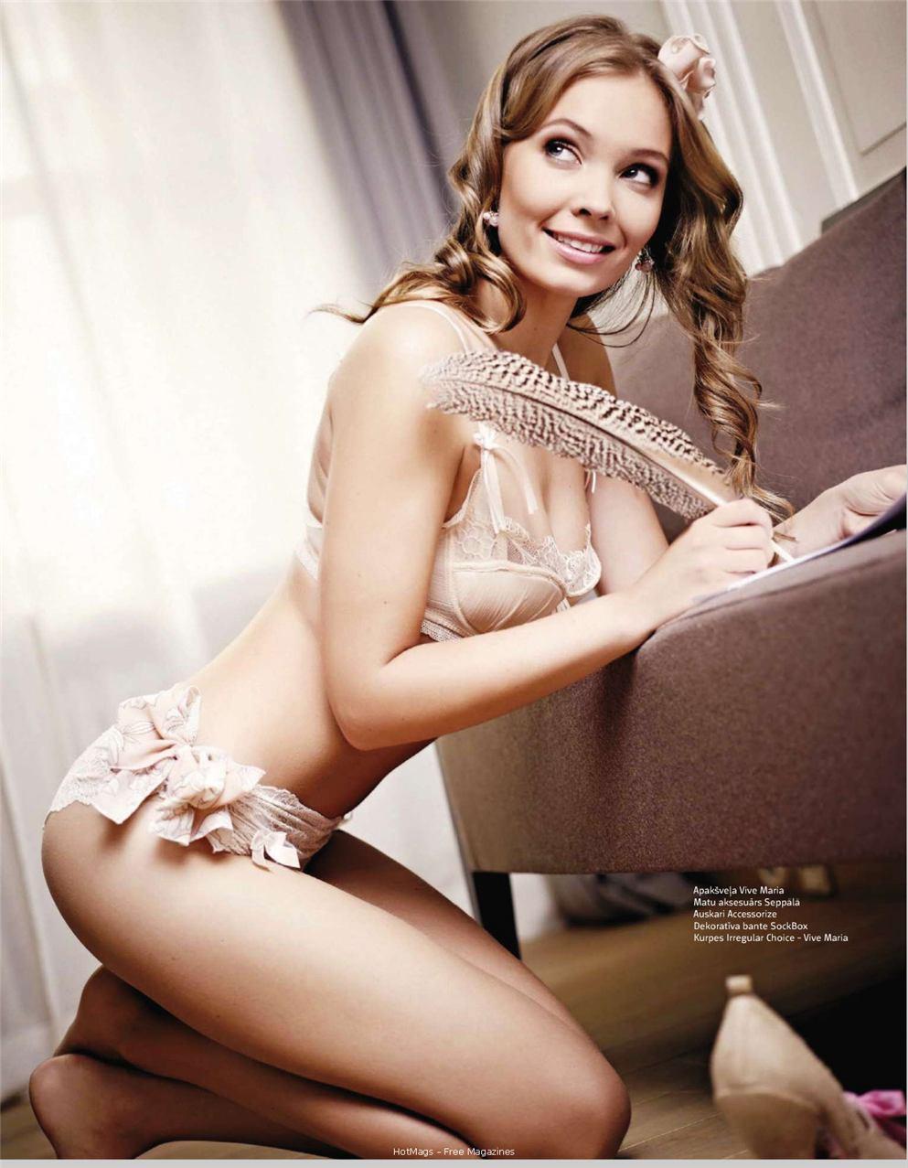 Анна Розите / Anna Rozite in Playboy Latvia october 2010