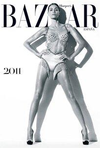 Шейла Маркес / Sheila Marquez by Nico in Harper-s Bazaar Spain 2011 calendar