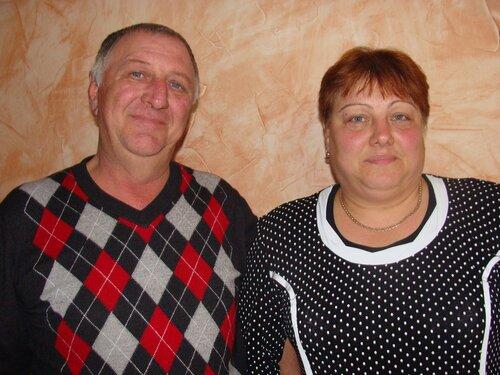 Н.Н.Иванов, председатель СПК «Искра» и В.В.Иванова, бригадир СПК «Горка»
