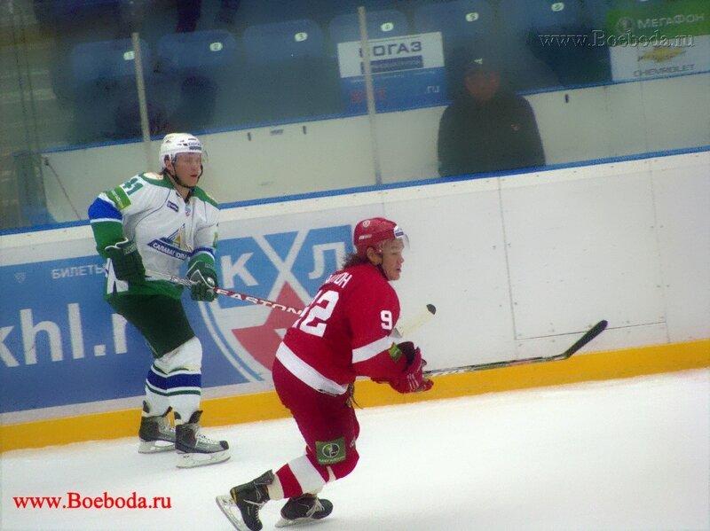 Фото с матча Витязь - Салават Юлаев