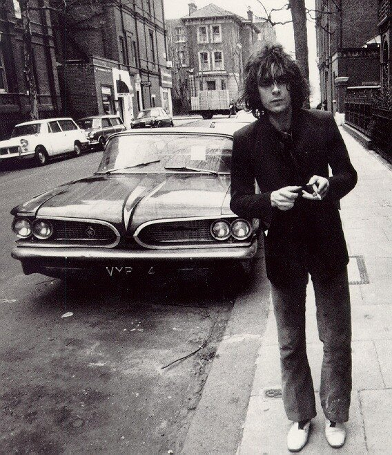Syd Barrett  Pontiac Laurentian 1959.